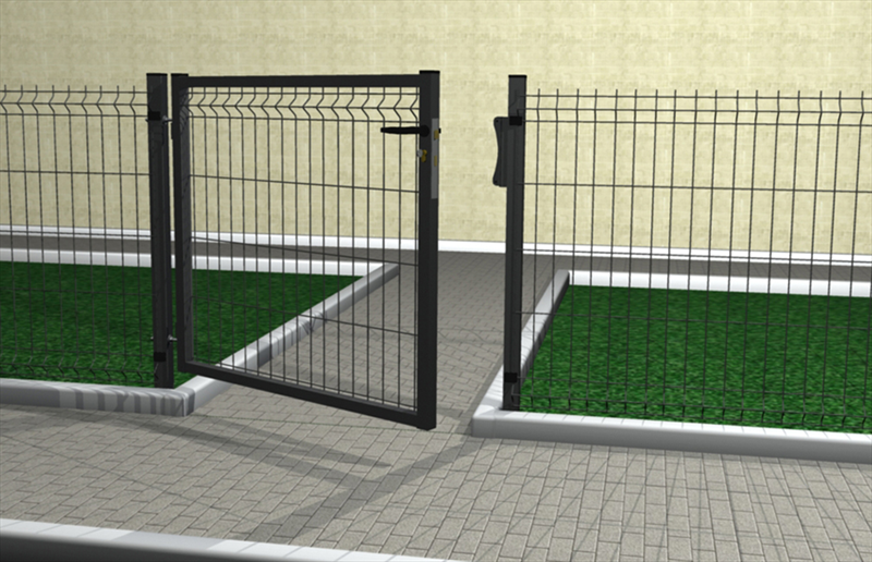 Hybrid 2500 ferro bulloni france for Cancelletto per cani da esterno
